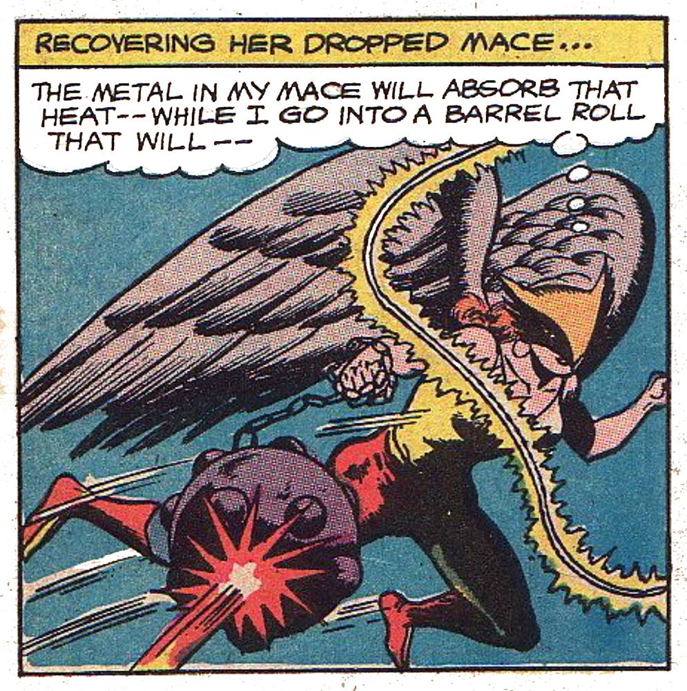 JLA #53 Hawkgirl