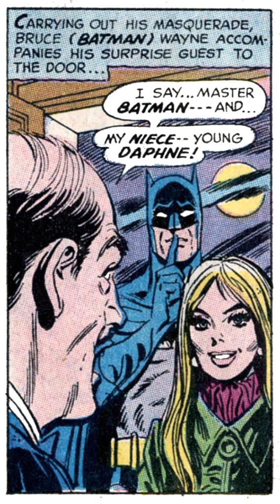 Batman #216 Daphne Pennyworth